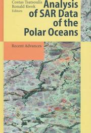 Cover of: Analysis of SAR data of the polar oceans |
