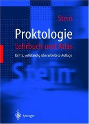 Cover of: Proktologie. Lehrbuch und Atlas