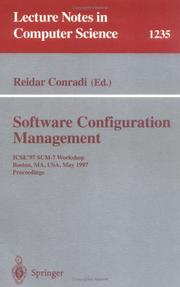 Cover of: Software configuration management | ICSE