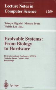 Cover of: Evolvable Systems: From Biology to Hardware |