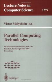 Parallel Computing Technologies by Victor Malyshkin