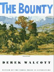 Cover of: The bounty: Poems