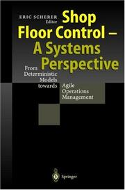 Cover of: Shop floor control |