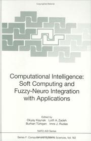 Cover of: Computational intelligence |