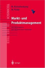 Markt- und Produktmanagement by