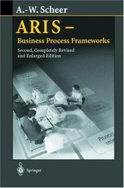 Cover of: ARIS--business process frameworks | August-Wilhelm Scheer