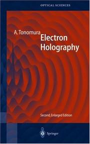 Cover of: Electron holography