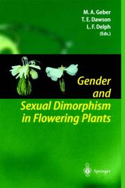 Cover of: Gender and sexual dimorphism in flowering plants |