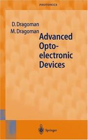 Cover of: Advanced optoelectronic devices | Daniela Dragoman