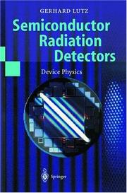 Cover of: Sem1conductor radiation detectors