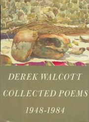 Cover of: Collected poems, 1948-1984