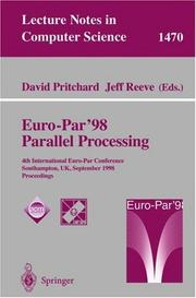 Cover of: Euro-Par'98 parallel processing