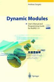 Cover of: Dynamic modules | Andreas Sorgatz