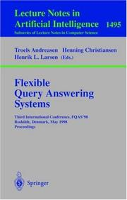 Cover of: Flexible query answering systems