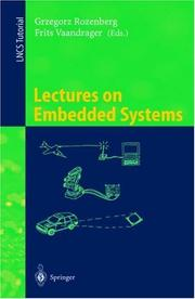 Cover of: Lectures on embedded systems