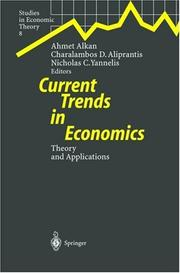 Cover of: Current Trends in Economics |