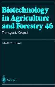 Cover of: Transgenic Crops I