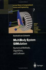 Cover of: Multibody system simulation
