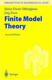 Cover of: Finite model theory