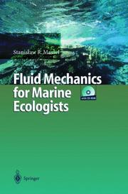 Cover of: Fluid Mechanics for Marine Ecologists