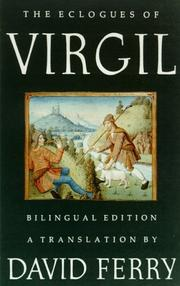 Cover of: The Eclogues of Virgil | Publius Vergilius Maro