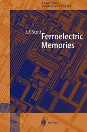 Cover of: Ferroelectric Memories