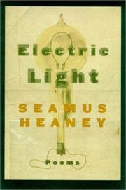 Cover of: Electric light: Poems