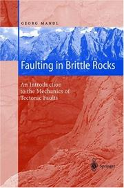 Cover of: Faulting in brittle rocks