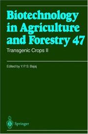 Cover of: Transgenic Crops II