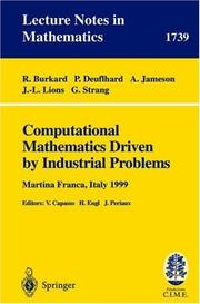 Cover of: Computational Mathematics Driven by Industrial Problems | R. Burkard