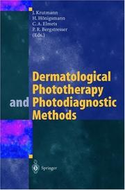 Cover of: Dermatological Phototherapy and Photogiagnostic Methods |
