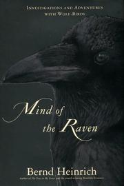 Cover of: Mind of the Raven | Bernd Heinrich