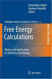 Free energy calculations by