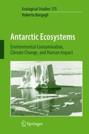 Cover of: Antarctic Ecosystems | R. Bargagli