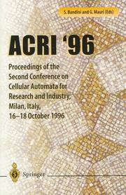 Cover of: ACRI '96