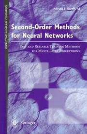 Cover of: Second-order methods for neural networks