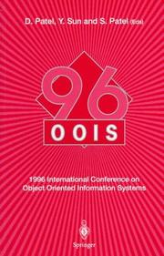 Cover of: OOIS '96, 1996 International Conference on Object Oriented Information Systems, 16-18 December 1996, London