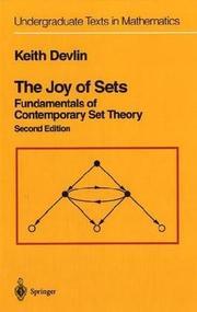 The Joy of Sets: Fundamentals of Contemporary Set Theory
