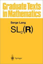 Cover of: SL₂(R)