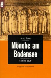 Cover of: Mönche am Bodensee. 610 - 1525