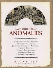 Cover of: Jay's journal of anomalies