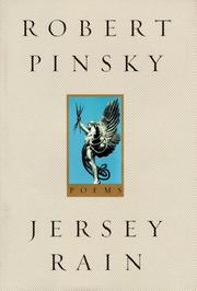 Cover of: Jersey rain