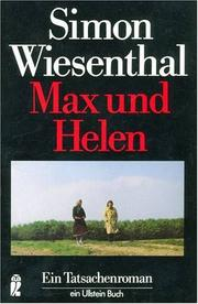 Cover of: Max und Helen