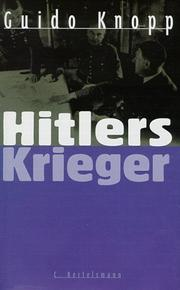 Cover of: Hitlers Krieger by Guido Knopp