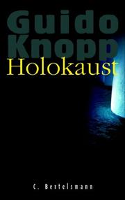 Cover of: Holokaust