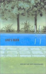 Cover of: Love's death
