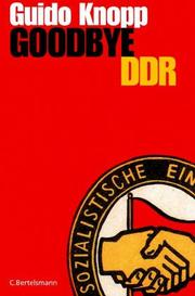 Cover of: Goodbye DDR