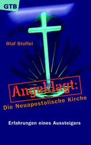 Cover of: Angeklagt