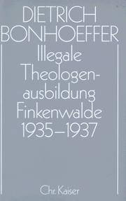 Cover of: Illegale Theologen-Ausbildung