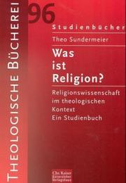 Cover of: Was ist Religion?